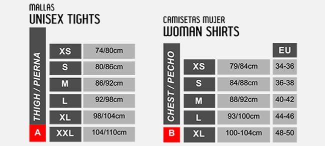 fbabab2020 Camiseta térmica mujer Sport HG 8050