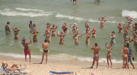 Aquagym playa