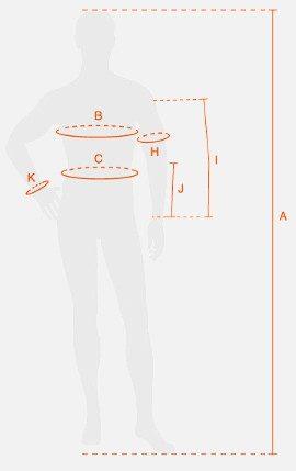Tallas camisetas Recuperacion X-Bionic Supercalcetines