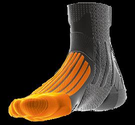 Duckbill shaped footguard