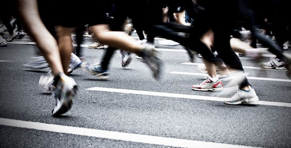 Corre en la calle