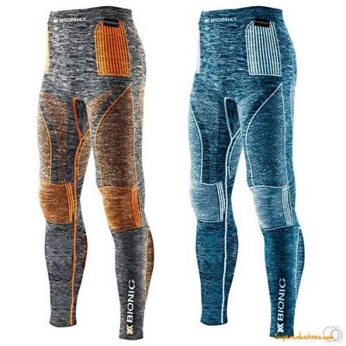 Pantalón largo X-Bionic Accumulator® Evo Melange Hombre