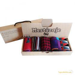 Pack de 5 calcetines de algodón peinado Mestizaje